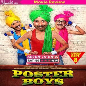 पोस्टर बॉयज़ फिल्म रिव्यू: हंसा-हंसा कर लोट-पोट कर देगी सनी, बॉबी और श्रेयस की फिल्म पोस्टर बॉयज़, पढ़िए रिव्यू !!