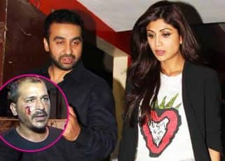 A wounded photographer narrates a horrific tale of bouncers hitting him at Shilpa Shetty's dinner date - watch video