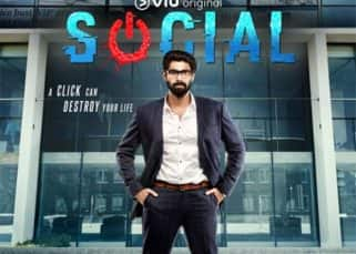 Rana Daggubati's crisp corporate look stands out in the Social poster