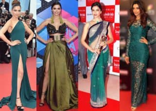 Navratri 2017: Let Deepika Padukone teach you to rock different hues of the colour green on Day 2 of the festival