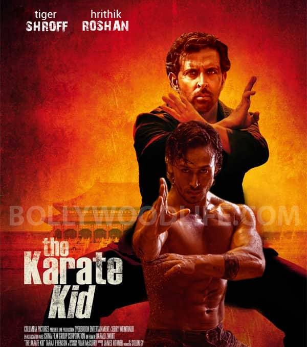 Hrithik Roshan vs Tiger Shroff: The Karate Kid, Man Of Tai ... Horns Movie Poster