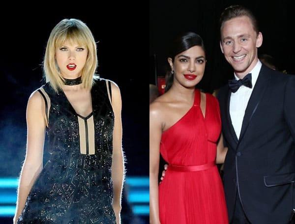 Taylor Swift Shades Priyanka Chopra And Ex Beau Tom Hiddleston In