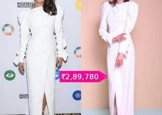 Rs 3 Lakh! That's the amount you need to pay to be a proud owner of this gorgeous outfit worn by Priyanka Chopra
