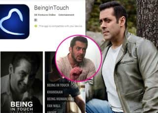 Want to break into Bollywood? Salman Khan will show you the way with his Being in Touch app - watch video