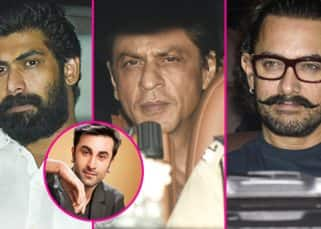 [All Photos] Shah Rukh Khan, Rana Daggubati, Aamir Khan come together for Ranbir Kapoor's 35th birthday bash