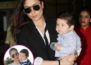 Taimur Ali Khan is back in town with mommy Kareena Kapoor Khan and this time, he's happy - view HQ pics!