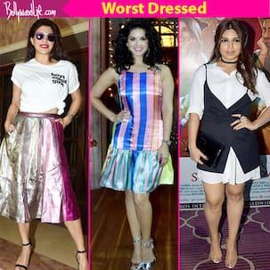 Jacqueline Fernandez, Sunny Leone, Bhumi Pednekar offend the fashion police this week