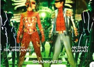 2.0 new poster: Rajinikanth and Amy Jackson lock eyes, but they aren't romancing - view pic!