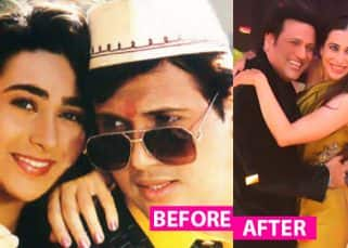 Govinda and Karisma Kapoor's sizzling act in Dance Champions took us back to the blingy '90s that we so love!
