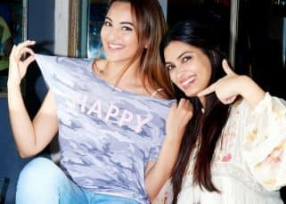 Surprise! Surprise! Sonakshi Sinha, Diana Penty come together for Happy Bhaag Jayegi Returns