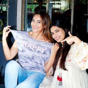 Surprise! Surprise! Sonakshi Sinha, Diana Penty come together for Happy Bhaag Jayegi Returns