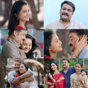 Villain song Kandittum Kandittum: Mohanlal and Manju Warrier's mature romance is given a melodious touch by KJ Yesudas