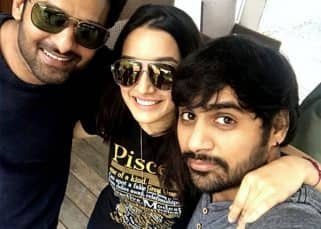 Did Prabhas celebrate his birthday with Shraddha Kapoor on the sets of Saaho?