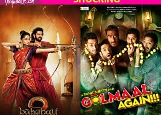 Rs 368 crore! That's the alarming difference between the lifetime collections of Baahubali 2 and Golmaal Again, the top two highest grossers of 2017