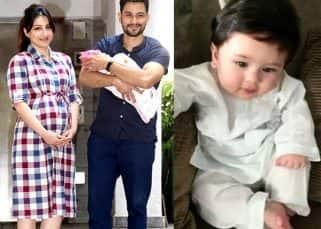 Aww! Taimur Ali Khan met Soha Ali Khan-Kunal Kemmu's newborn daughter Inaaya but what happened next was completely unexpected