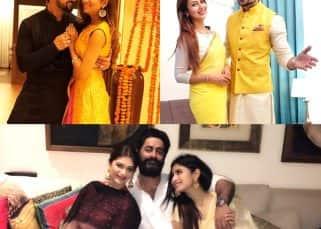 Divyanka Tripathi-Vivek Dahiya, Mouni Roy-Mohit Raina: A look at your favorite TV couples' Diwali celebrations through Instagram - View Pics