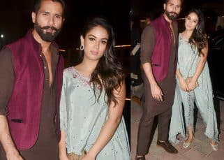 Shahid Kapoor-Mira Rajput step out looking like a million bucks for a Diwali bash - view pics