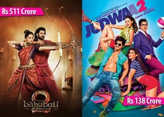 Baahubali 2, Judwaa 2, Raees, Golmaal Again: Here are the top 10 grossers of 2017