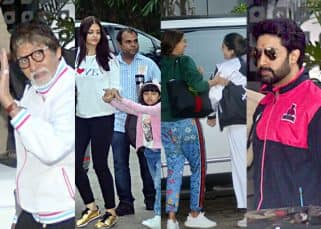 Aishwarya Rai Bachchan, Navya Naveli Nanda and the entire family jet off to celebrate Amitabh Bachchan's 75th birthday