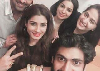 Baahubali stars Prabhas, Rana Daggubati, Anushka Shettty reunite to party and we have a pic, thanks to Raveena Tandon
