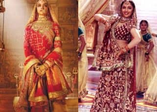 Are Deepika Padukone's costumes in Padmavati as heavy as those of Madhuri Dixit's in Devdas? The designer answers!