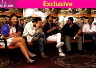 [Exclusive Video] Ajay Devgn, Parineeti Chopra, Arshad Warsi take BollywoodLife's Golmaal Quiz - find out how they fared