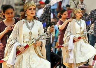 Kangana Ranaut's warrior princess look from Manikarnika is regal and formidable both at the same time  - View Pics