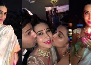 These INSIDE PICS of Karisma Kapoor, Deepika Padukone and Varun Dhawan from a B-town Diwali bash will make you wish you had received an invite too!