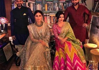 Saif Ali Khan, Kareena Kapoor, Soha Ali Khan and Kunal Kemmu come together for a royal Diwali family pic