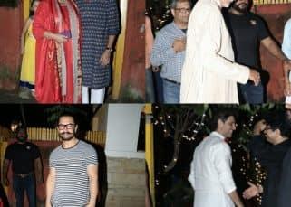 Aamir Khan, Amitabh Bachchan, Hrithik Roshan grace Shabana Azmi's Diwali bash - view pics