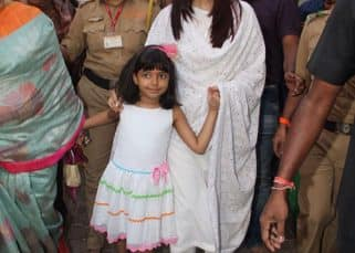 Aishwarya Rai Bachchan spotted at Siddhivinayak temple with Aaradhya on her birthday - view HQ pics