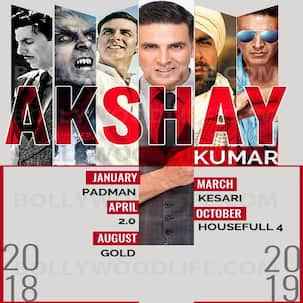 Padman, 2.0, Gold: Akshay Kumar's movie slate is one that the actor must surely be proud of!