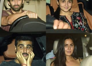 What were Alia Bhatt, Katrina Kaif, Arjun Kapoor and Aditya Roy Kapur doing together last night? View HQ pics