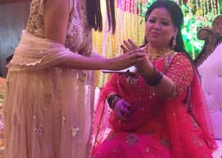 Bharti Singh - Haarsh Limbachiyaa's wedding starts off with bangle ceremony; Anita Hassanandani, Adaa Khan, Monalisa bless the bride-to-be