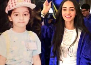 25 pics shared by Ananya Pandey's mother on Instagram that chart her journey from a kid to a teen
