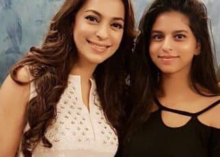Suhana Khan clicks her first pic with Juhi Chawla and Shah Rukh Khan has all sweet things to say!