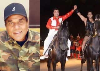 Dharmendra upset with Fukrey Returns' unique promotional strategy?