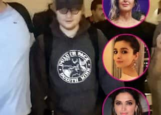 Ed Sheeran arrives in Mumbai for concert; Deepika Padukone, Katrina Kaif and Alia Bhatt will party with him tonight