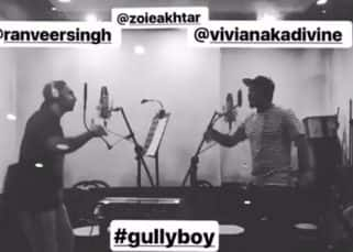 Ranveer Singh raps like a pro as Zoya Akhtar's Gully Boy wraps up - watch video