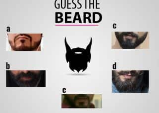 Guess the beard: Can you guess the names of these actors just from their facial hair? View pics!
