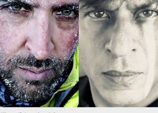 77 percent of fans loved Hrithik Roshan's selfie more than Shah Rukh Khan's!