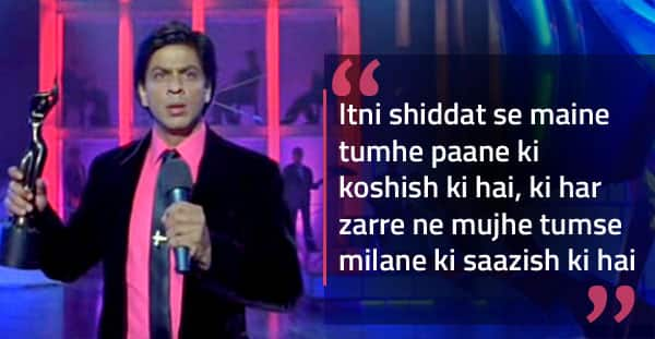 10 Years Of Om Shanti Om 10 Memorable Dialogues From Shah Rukh Khan