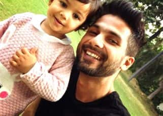 Here's the latest pic of Shahid Kapoor chilling with his daughter Misha which will guaranteed bring a smile on your face