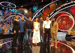 Bigg Boss 11: Salman Khan welcomes Race 3 co-stars, Bobby Deol, Jacqueline Fernandez, Daisy Shah, Saqib Saleem on the show