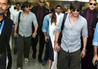 IFFI 2017: Shah Rukh Khan reaches Goa to inaugurate the festival - view pics