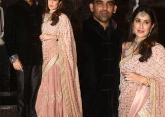 Sagarika Ghatge and Zaheer Khan look like a million bucks at their wedding reception - view pics