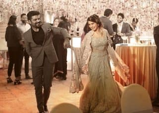 We wonder what Rana Daggubati and Naga Chaitanya are talking about while Samantha Ruth Prabhu is dancing away - view pic