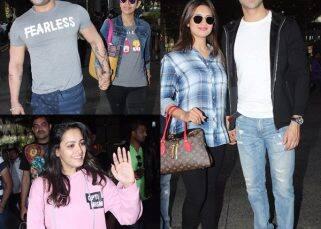 Divyanka Tripathi, Karan Patel and the cast of Yeh Hai Mohabbatein return from Budapest - view HQ pics