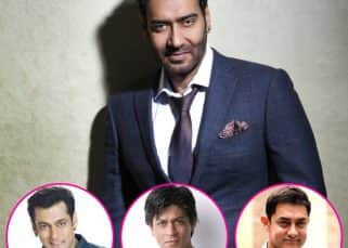 Ajay Devgn's new tactic will surely surprise Shah Rukh Khan, Salman Khan and Aamir Khan