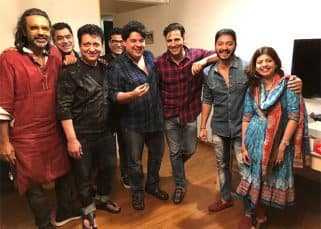 Sajid Khan had one of the best birthdays with Akshay Kumar, Sajid Nadiadwala and Shreyas Talpade - view pic